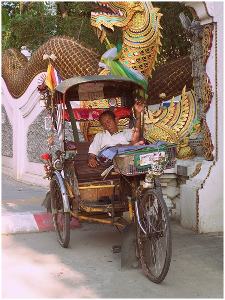 Chiang Mai fietstaxi