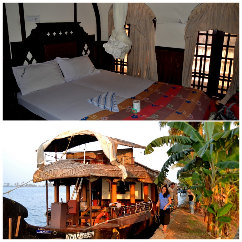 Our houseboat - Kerala