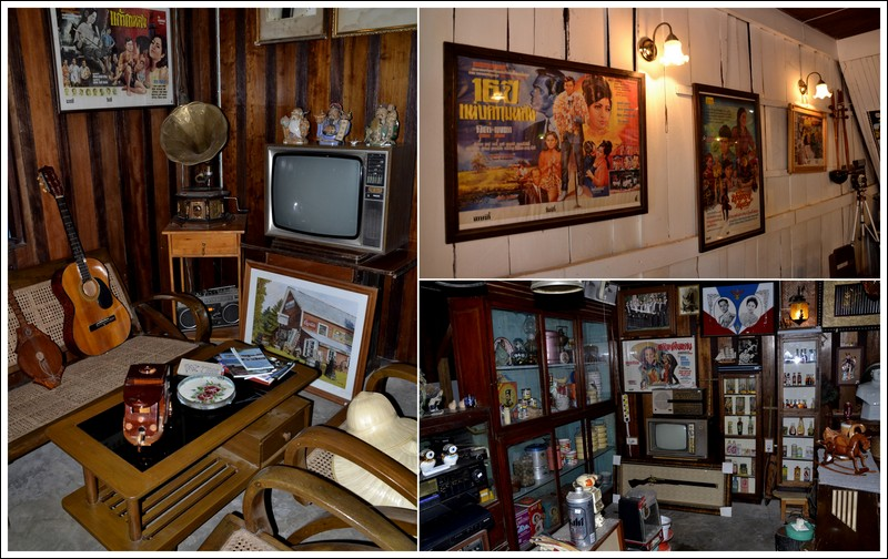 Pranburi Saturday market vintage coffee shop