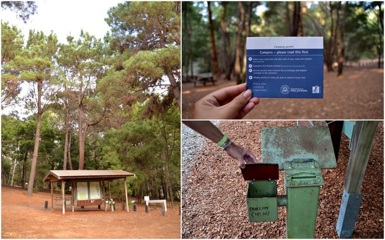 Australian National Park camping