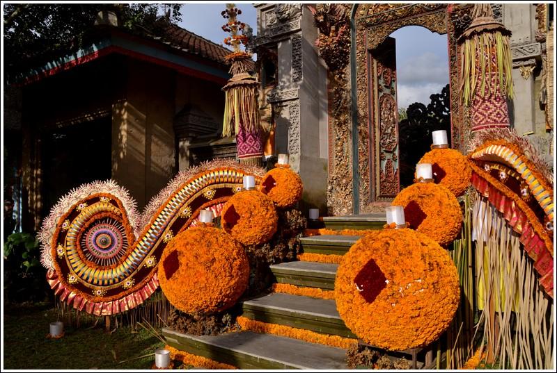 Offerings in Ubud