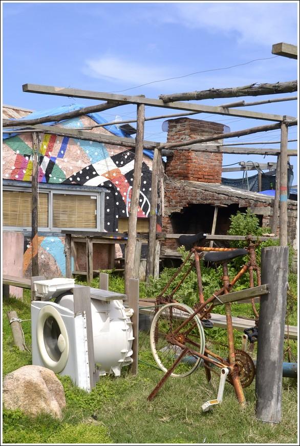 Wasmachine fiets