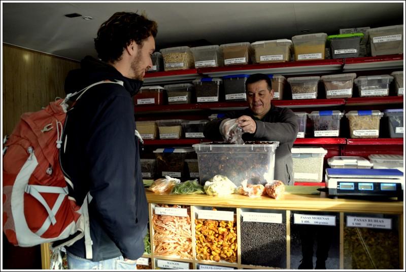 Gedroogd eten voor de Torres del Paine 'W' trektocht