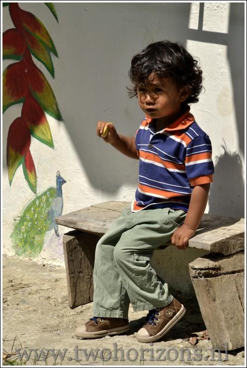 Colombiaanse jongen